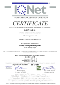 IQNET iso 9001-2015